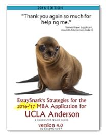 Ucla Mba Essay Tips by Ucla Essay Question Mba Recommendations