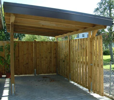 carport planen carport design plans planning prlog