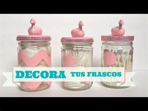 como decorar frascos de vidrio you tube como decorar y reciclar frascos de vidrio cristal