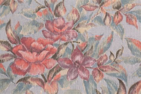 pastel upholstery fabric monet printed cotton drapery fabric in pastel