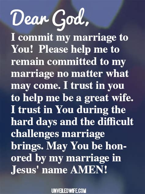 Commitment Letter To Jesus Prayer Staying Committed In Marriage