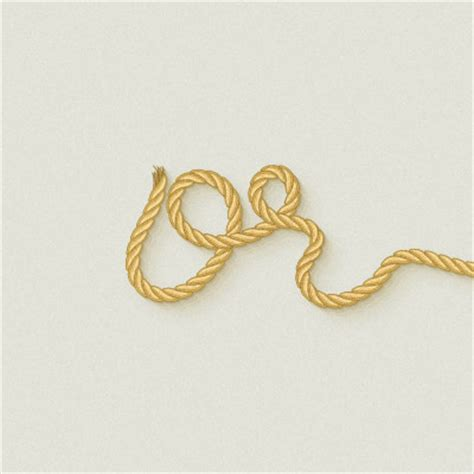 illustrator rope pattern brush download use a pattern brush to create a rope text effect in