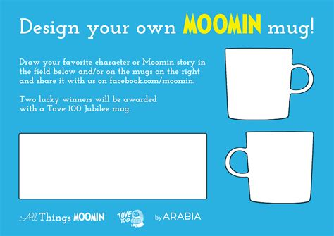 design your own template design your own moomin mug moomin moomin