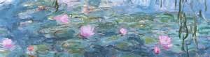 Vase Painting Ideas Interior Inspiration Monet S Water Lilies