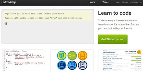 css tutorial code academy interactive code learning online 8 most useful websites
