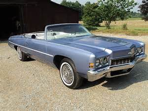 Chevrolet Impala Convertible For Sale 1972 Chevrolet Impala Convertible For Sale Creston Ohio