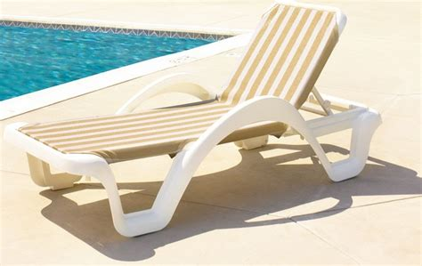 collection  pvc outdoor chaise lounge chairs
