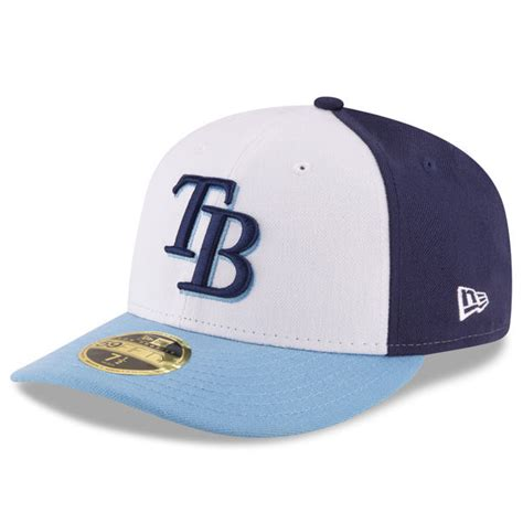 ta bay rays new era front n center low profile 59fifty