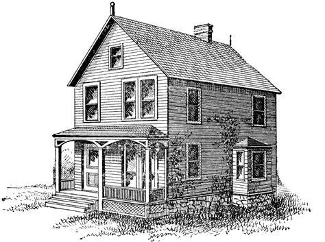 Printable Farm House | free digital st old house image png 1 600 215 1 193 pixels