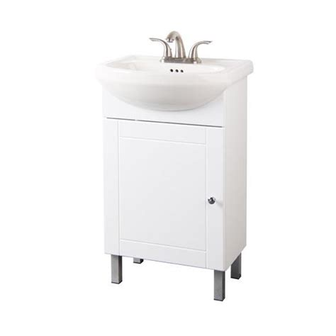 rona bathroom cabinets one door vanity white rona