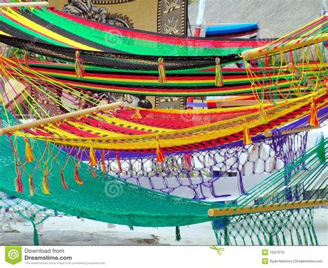 Colorful Hammocks For Sale Colorful Hammocks Stock Photo Image 1047070