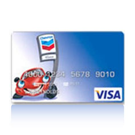 Chevron And Texaco Universal Card