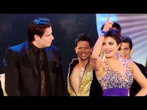 priyanka chopra john travolta s hot dance at iifa awards 2014 hrithik roshan iifa awards 2014 main event performa