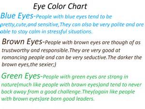 eye color and personality eye color chart by fioleefoareva on deviantart
