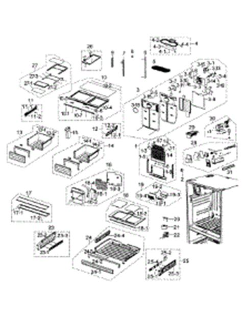samsung door refrigerator parts diagram periodic