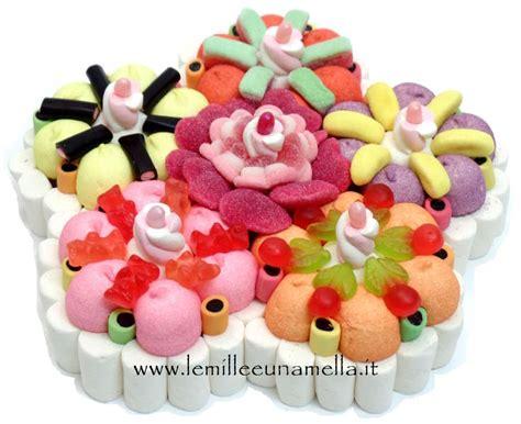 torta a forma di fiore vendita torte di caramelle le mille e una mella