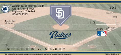 Background Check San Diego San Diego Padres Mlb 174 Personal Checks