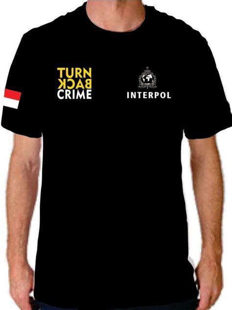 Kaos Baju Turn Back Crime gaya aman untuk ikutan tren turn back crime lifestyle