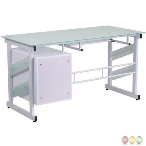white pedestal desk with drawers white computer desk with three drawer pedestal