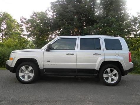 2011 Jeep Patriot Latitude X Purchase Used 2011 Jeep Patriot Latitude X Sport Utility 4