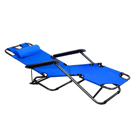 foldable pool lounge chairs lounger chair folding portable chaise sun lounger recliner