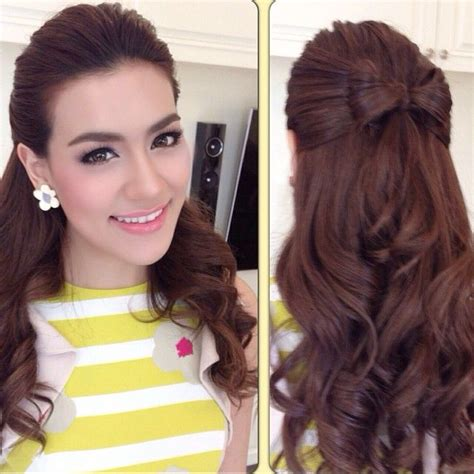thailand womens haircuts kimmy kimberley thai actress lakorn hair faye s beauty