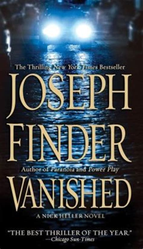 vanished a novel books vanished by joseph finder 9781429935661 nook book