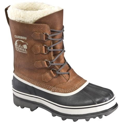 winter boot sorel s caribou wool winter boot