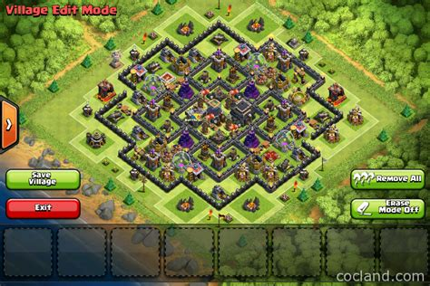 home base th 9 terbaik november 2016 the strategist town hall 9 trophy base clash of clans land