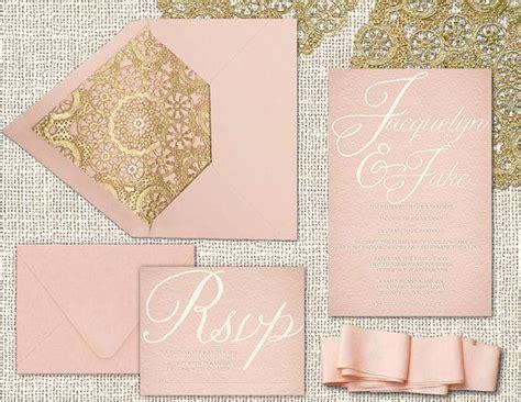 desain undangan pernikahan warna pink cara desain 20 kartu undangan pernikahan paling elegan