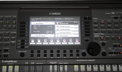 Adaptor Kyboard Yamaha Psr S770 yamaha psr s770 s 770 arranger workstation entertainer