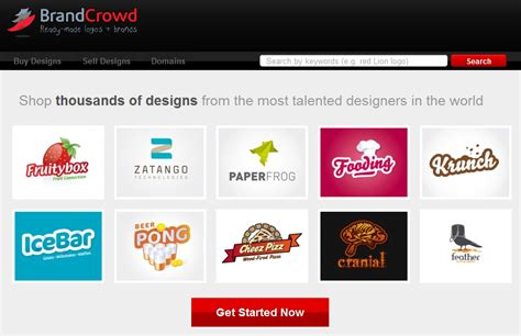 designcrowd pricing designcrowd launches brandcrowd com