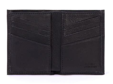 porte carte pour homme en cuir noir 8 cartes cuir pleine fleur 300