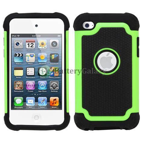 ipod touch rugged hybrid rugged rubber matte cover skin for apple ipod touch 4 4th