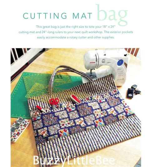 tote bag cutting pattern quilt pattern cutting mat bag tote your 18 quot x 24 quot cutting