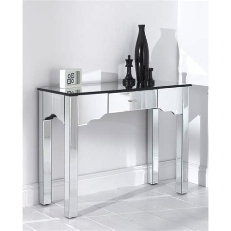 console romano mirrored romano console table