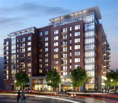appartment complex high rise apartment proposed for crystal city post office