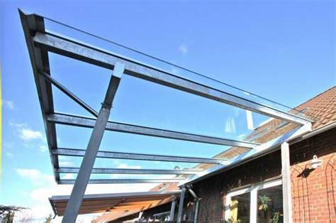 Terrassendach Glas Preis by Terrassendach Aus Feuerverzinktem Stahl Und