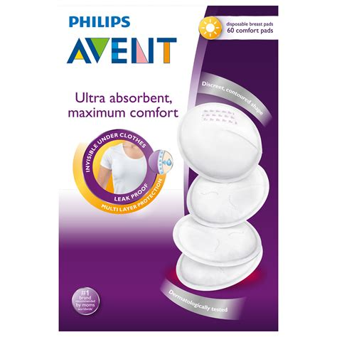 Breast Pad Avent avent disposable breast pad day 60 pack amcal