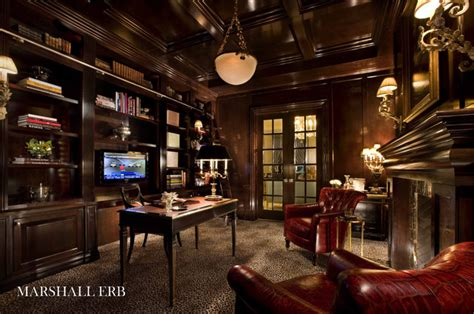Home Office Traditional Home Office Library Traditional Home Office Chicago By Marshall Erb Design Inc