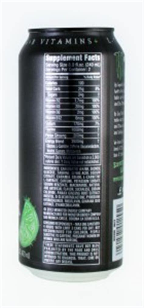 u energy drink nutritional information goes for nutrition bevnet