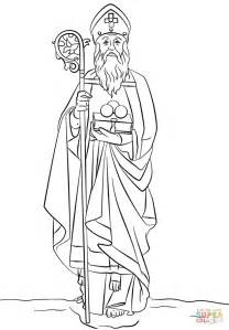 st nicholas coloring page st nicholas coloring page free printable coloring pages