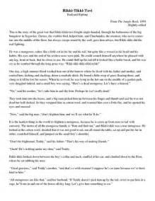Argument Essay Rikki Tikki Tavi by Rikki Tikki Tavi Essay Questions