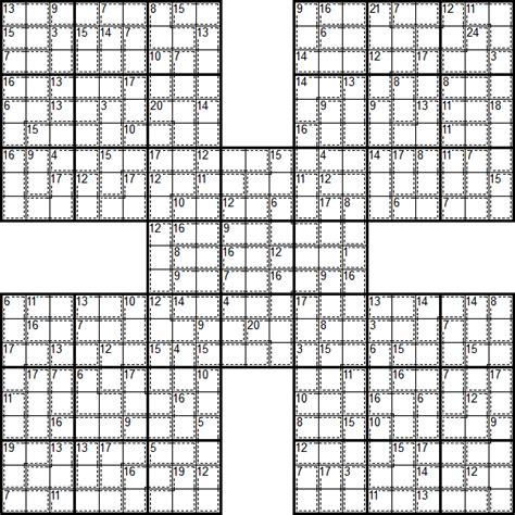 printable killer sudoku easy sudoku puzzle types