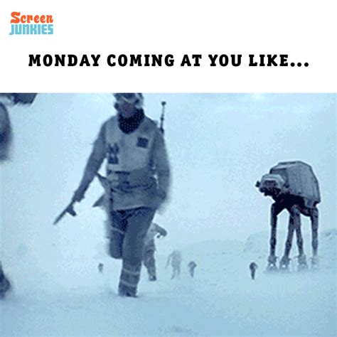 Log Finds Monday Speedy Links by Wars Mondays Gif By Screenjunkies Find On Giphy