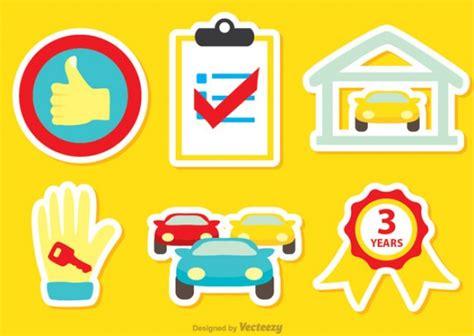 Kostenlose Aufkleber Auto by Autohaus Aufkleber Download Der Kostenlosen Vektor