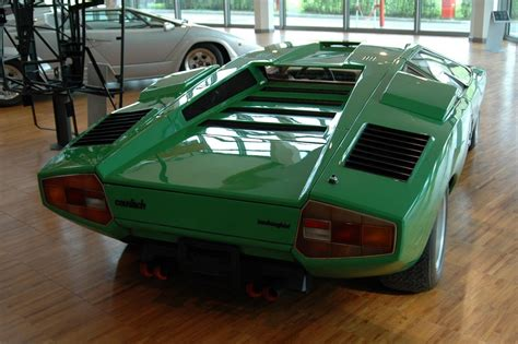 Green Lamborghini Countach And Concept Cars Lamborghini Countach