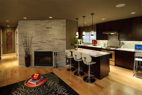 makeover contemporary kitchen seattle by