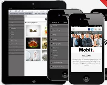 layout wordpress mobile easy free and cheap mobile wordpress themes website
