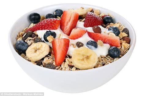 which breakfast cereals are really healthy daily mail